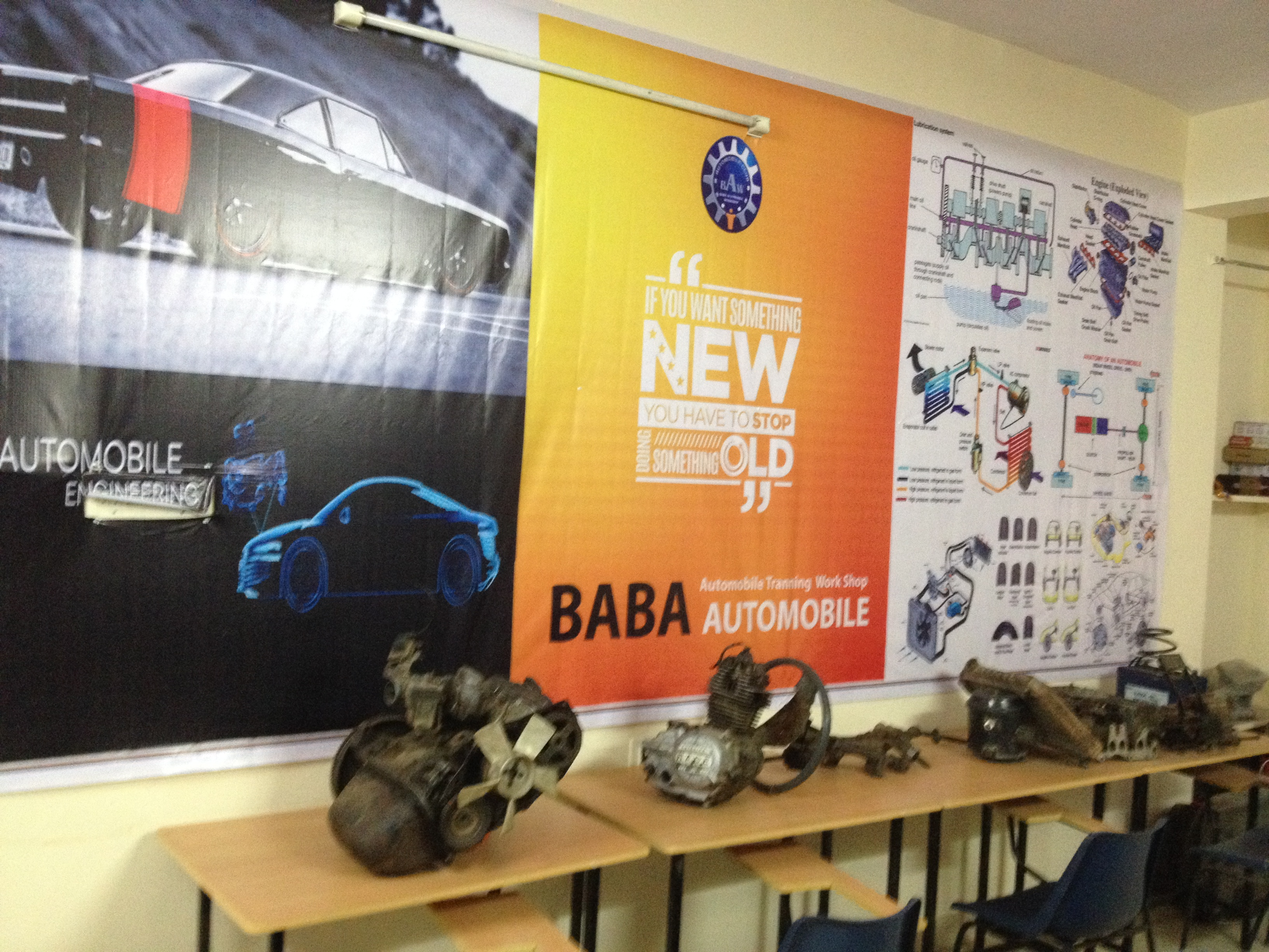 Baba Automobile- Automobile, Car, Bike, Internship, Training